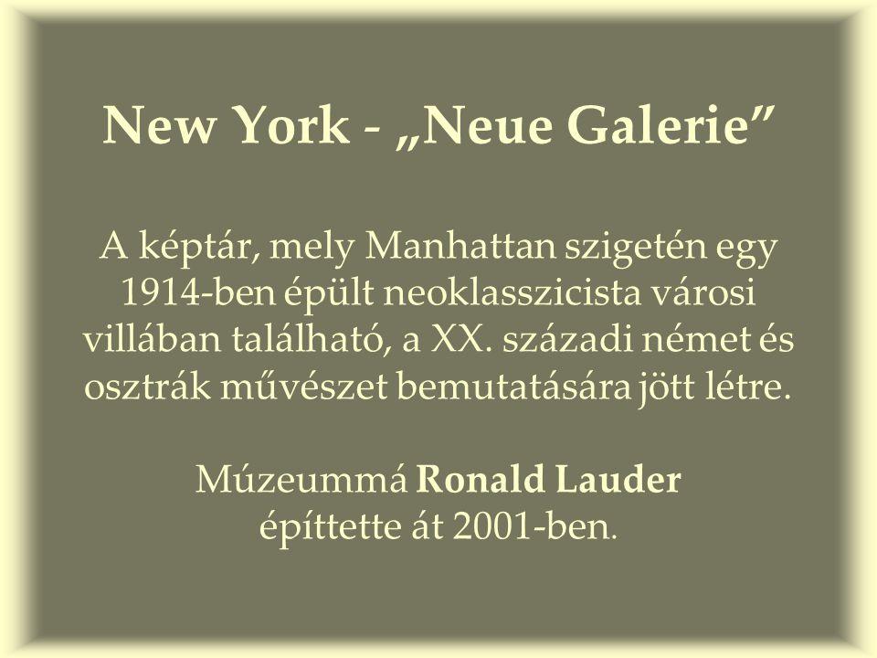 …ízelítő a galéria II. emeletéről, ahol a német expresszionisták kaptak helyet..