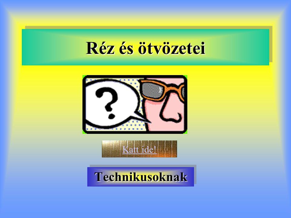 Szabványos sárgarezek 2.