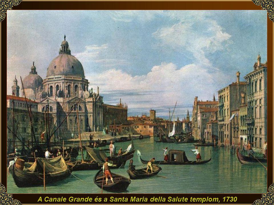 Velence: Capriccio, romok és épületek, 1730