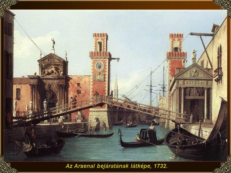 Venice: A Bucintoro visszatérése, 1732