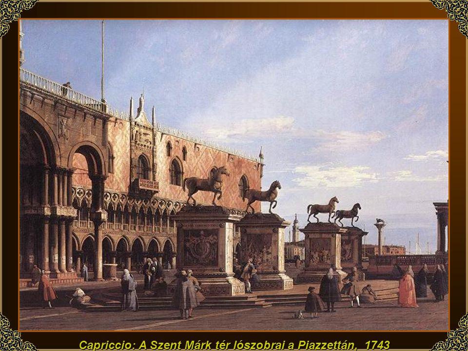 A Szent Márk tér, 1740