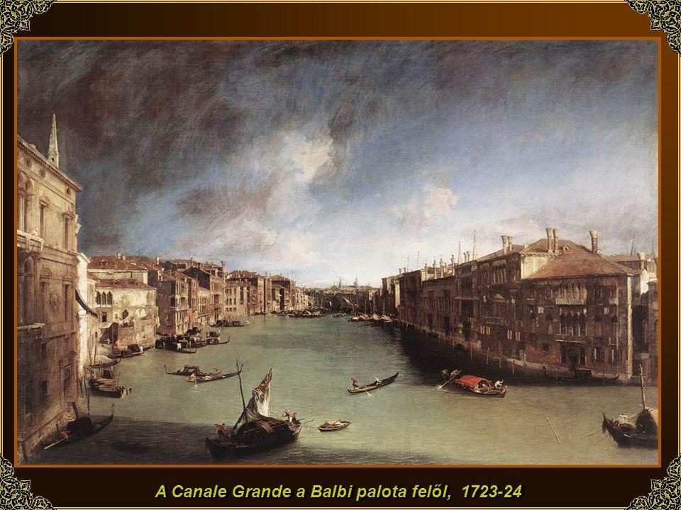 Giovanni Antonio Canal, ismertebb nevén El Canaletto, egyike az olasz barokk utolsó géniuszainak. Velencében született 1697-ben, első lépéseit a művés