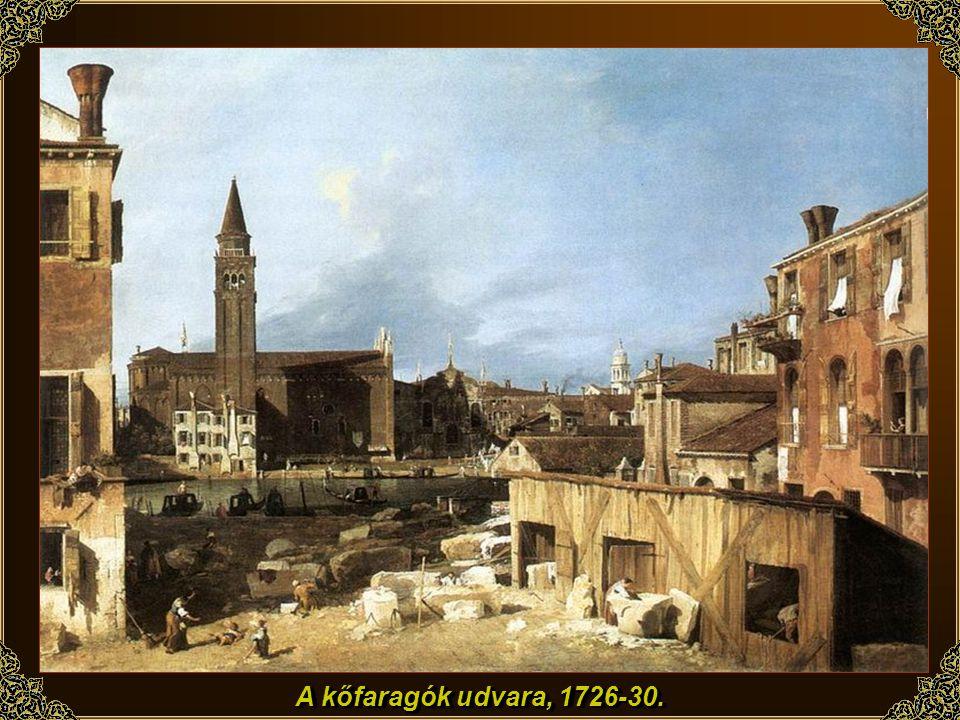 A velencei vámház, 1726-28