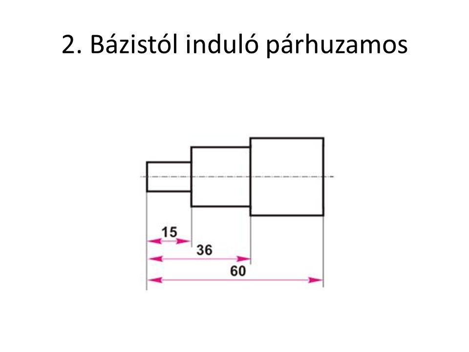 2. Bázistól induló párhuzamos