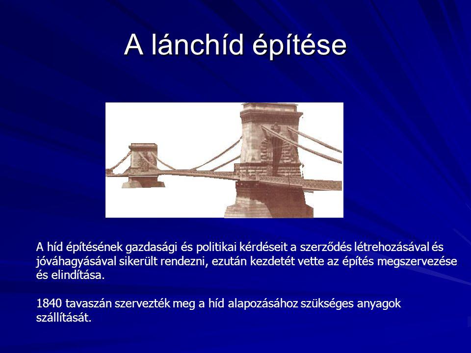A híd építésének gazdasági és politikai kérdéseit a szerződés létrehozásával és jóváhagyásával sikerült rendezni, ezután kezdetét vette az építés megszervezése és elindítása.