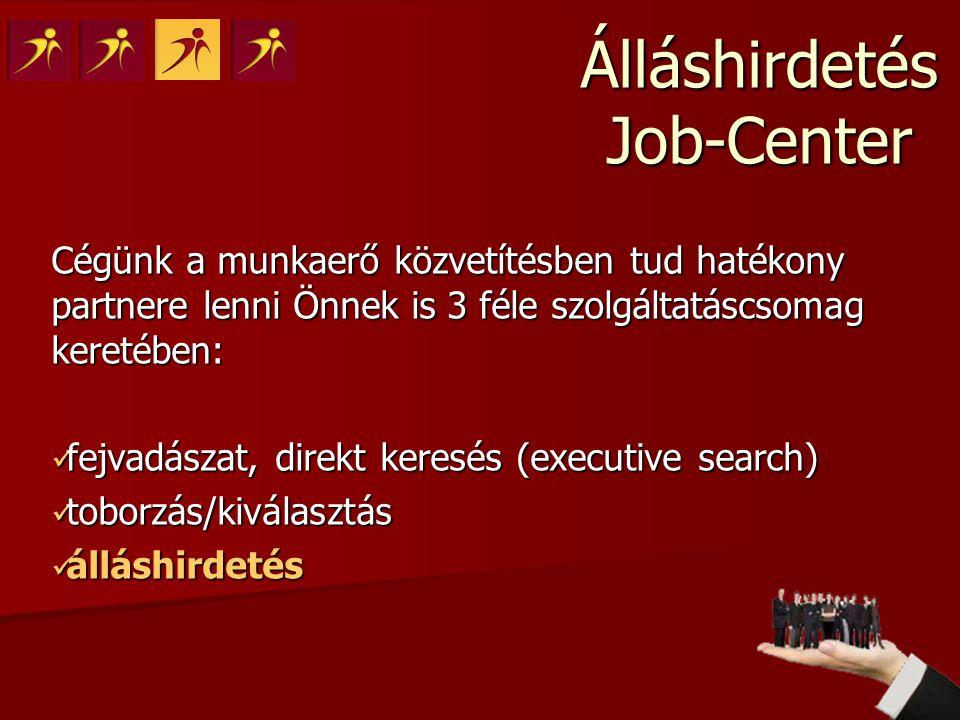 Miért a Job-Center.