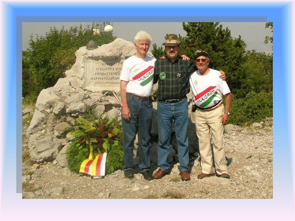 A program juniális jelleggel folytatódott, melynek során olasz és osztrák vendégekkel folytattunk baráti beszélgetést. Quitt András