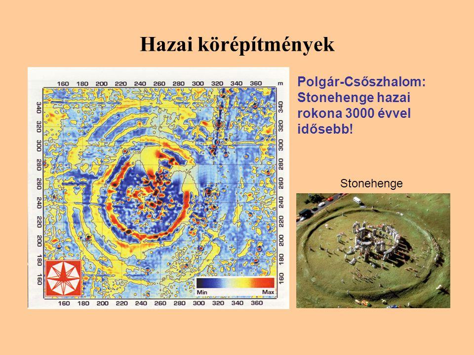 Hazai körépítmények Polgár-Csőszhalom: Stonehenge hazai rokona 3000 évvel idősebb! Stonehenge
