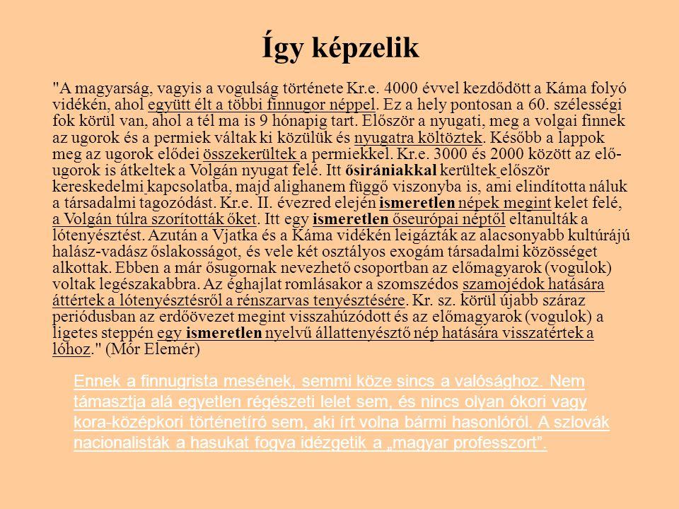 Így képzelik A magyarság, vagyis a vogulság története Kr.e.
