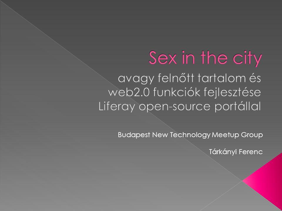 Budapest New Technology Meetup Group Tárkányi Ferenc