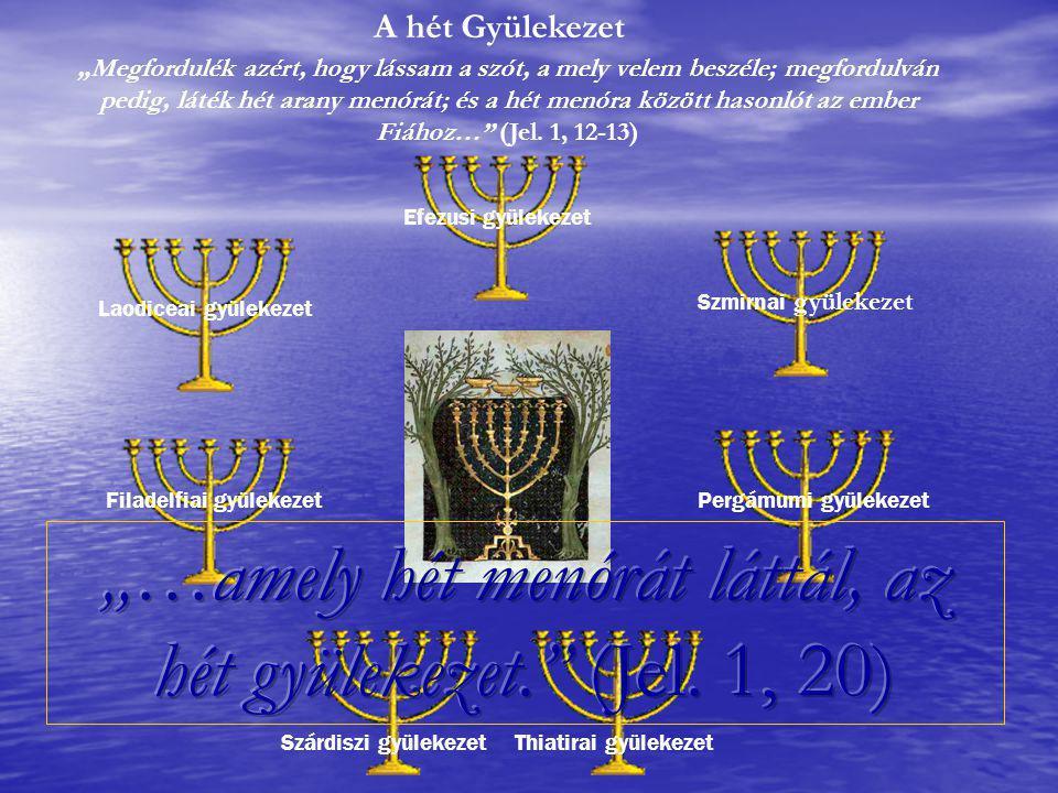 Az isteni világosságot jelképező menórát Isten a zsidóságon keresztül a Messiás egész Testének adta.