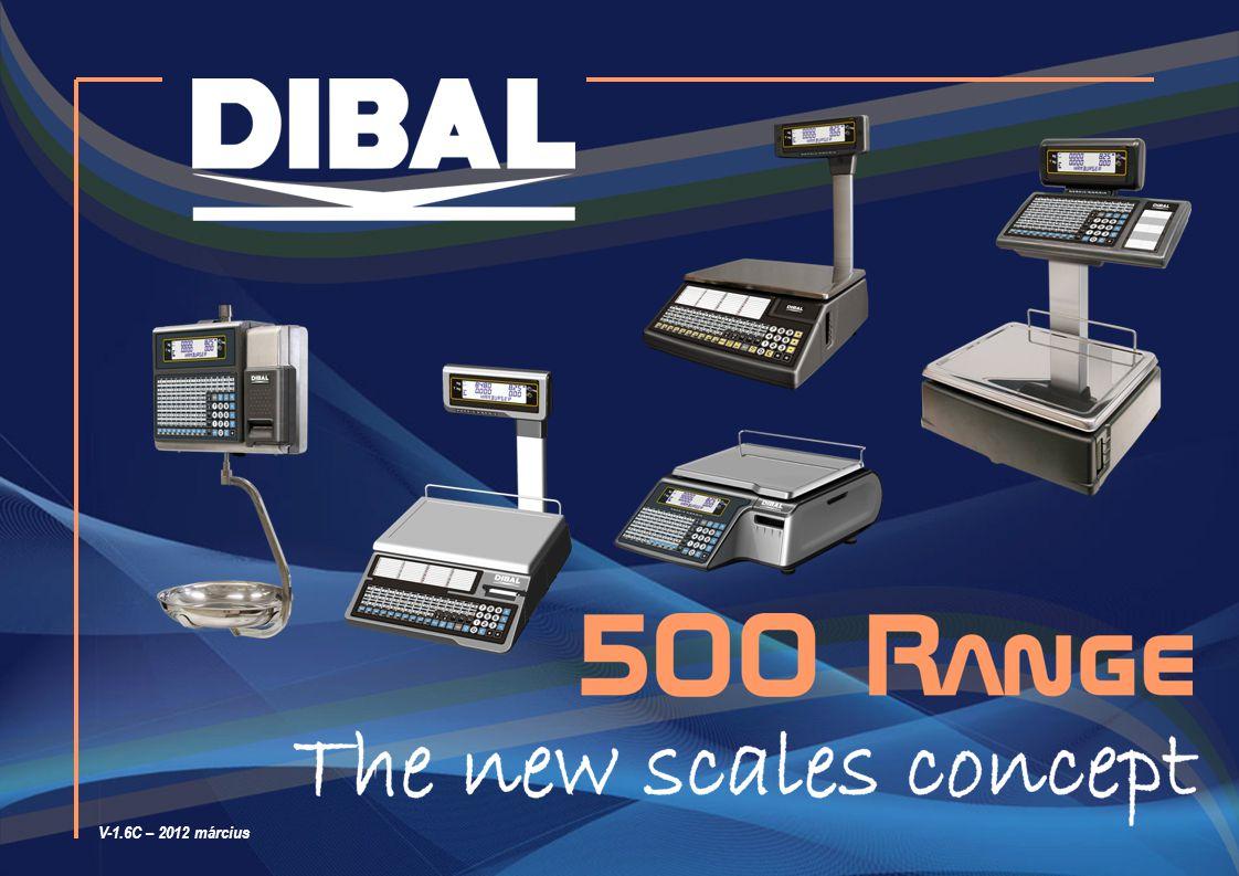 12 Rendelhető, modelltől függően: Egyszerű használat és programozás (1) A Range 500 mérlegek fejlesztésekor gondoltunk a felhasználókra és a szervizesekre is.
