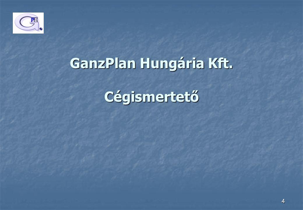 4 GanzPlan Hungária Kft. Cégismertető