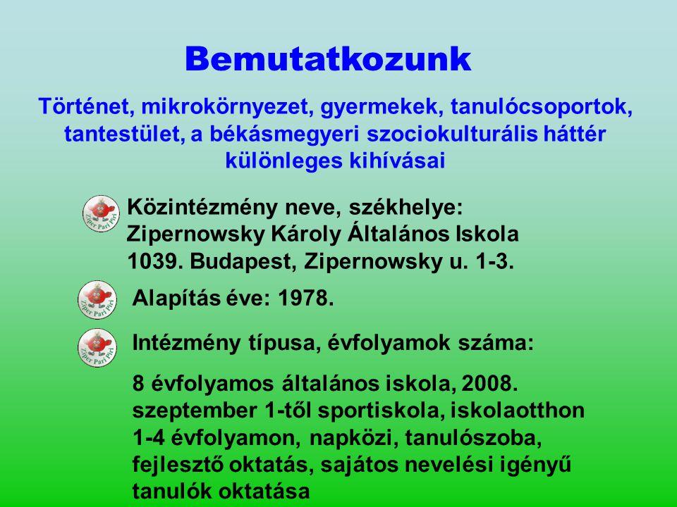 Iskolaújságunk, a Zipercek rendszeres környezetvédelmi rovattal és a témával foglalkozó különszámokkal is megjelenik.