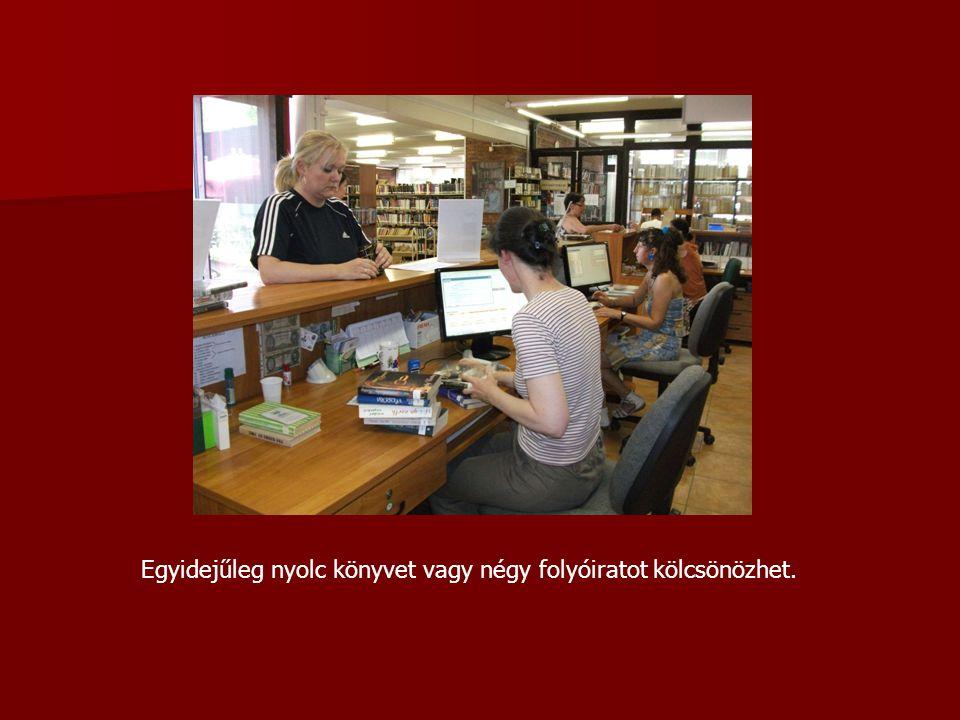Napi 45 percet internetezhet ingyenesen akkor is, ha nem beiratkozott olvasója könyvtárunknak.