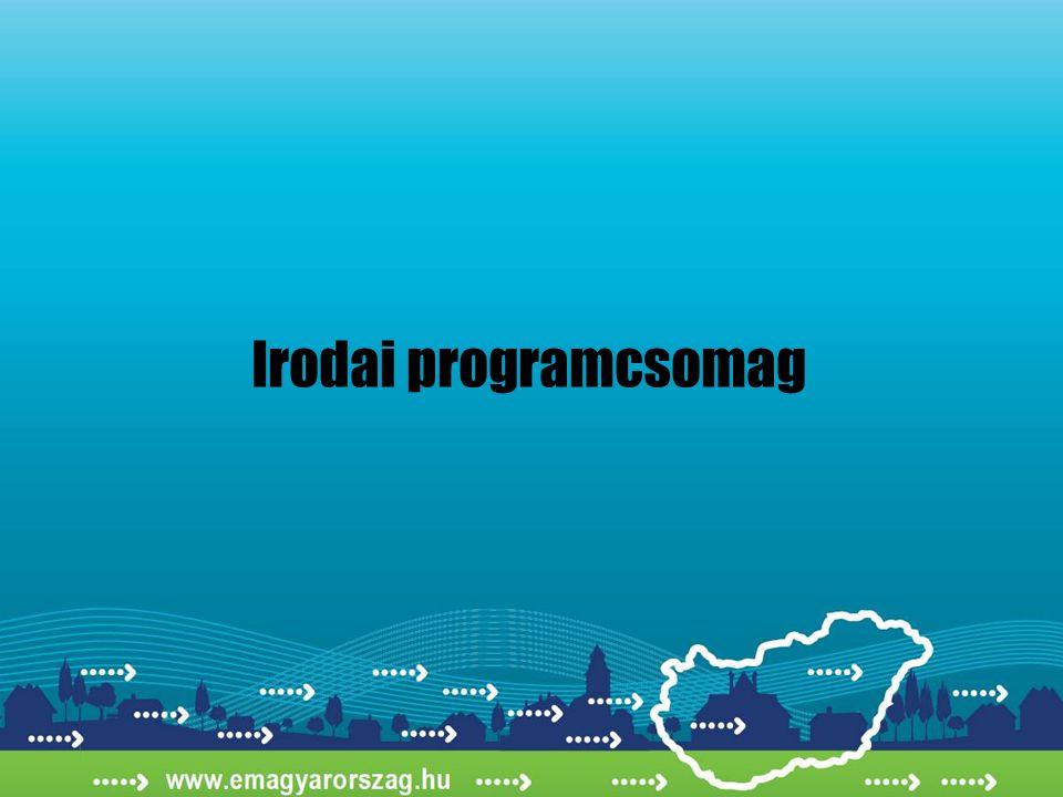 Irodai programcsomag