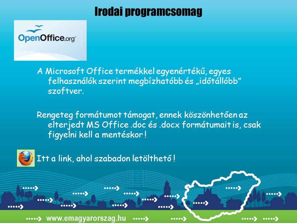 """A Microsoft Office termékkel egyenértékű, egyes felhasználók szerint megbízhatóbb és """"időtállóbb"""" szoftver. Rengeteg formátumot támogat, ennek köszönh"""