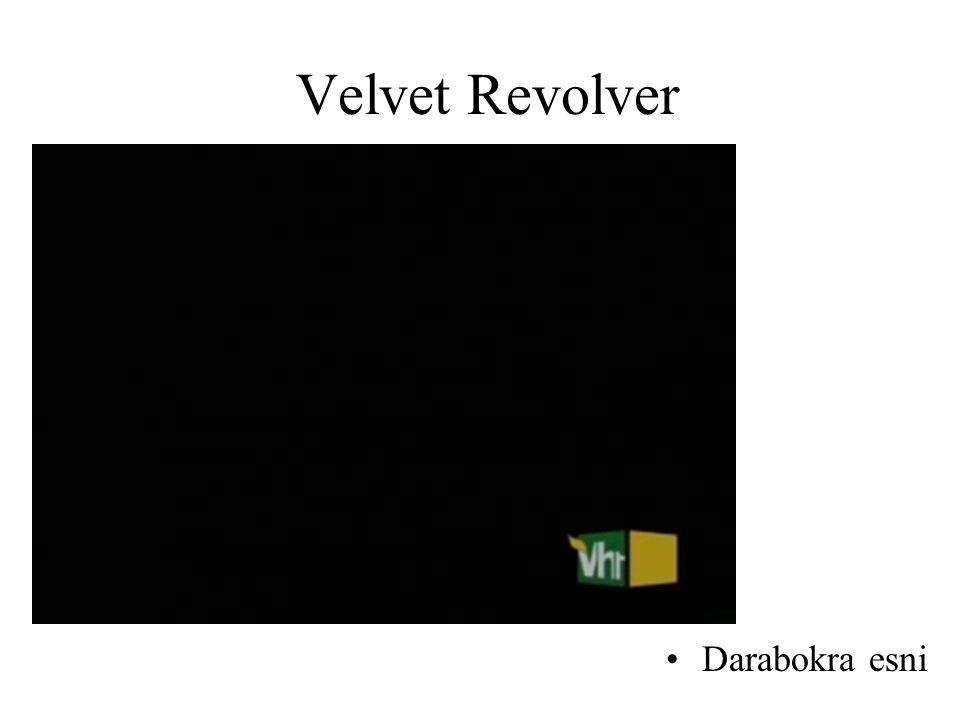 Velvet Revolver •Darabokra esni