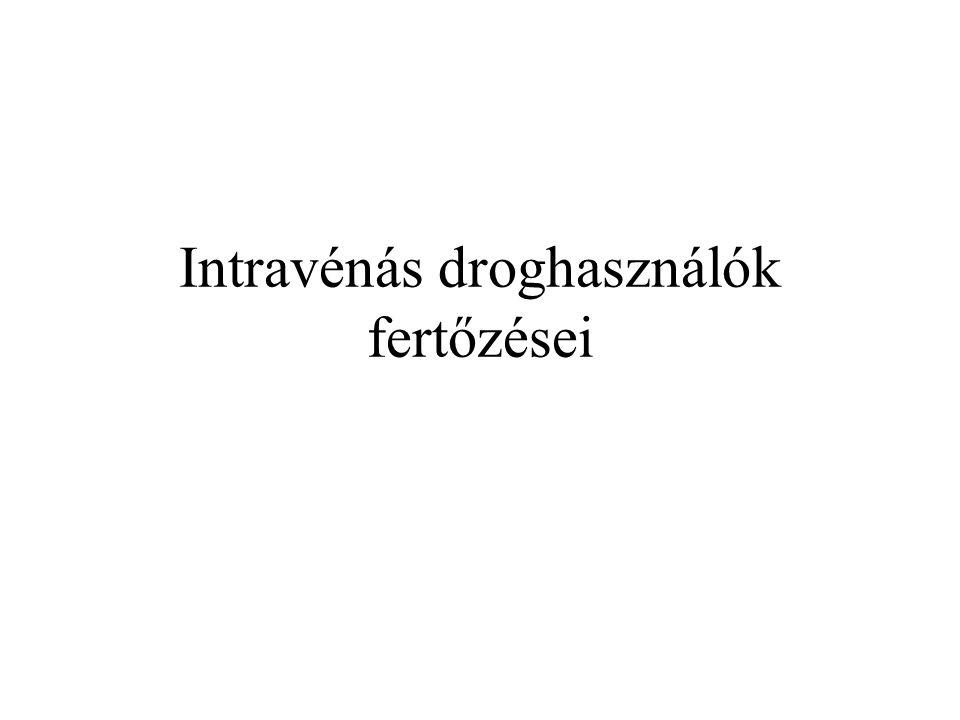 Intravénás droghasználók fertőzései