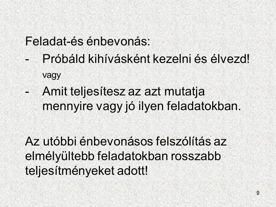 20 Irodalom: -J.