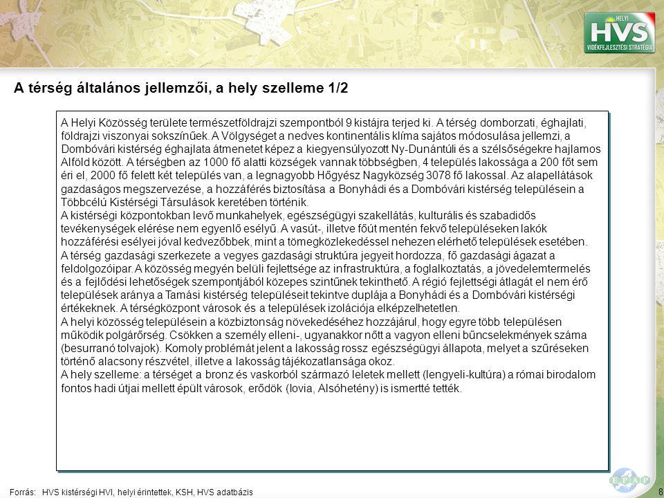 """49 Települések egy mondatos jellemzése 4/21 A települések legfontosabb problémájának és lehetőségének egy mondatos jellemzése támpontot ad a legfontosabb fejlesztések meghatározásához Forrás:HVS kistérségi HVI, helyi érintettek, HVT adatbázis TelepülésLegfontosabb probléma a településen ▪Csikóstőttős ▪""""Csikóstőttős legfontosabb megoldandó problémája a szennyvíz csatorna-hálózat hiánya."""