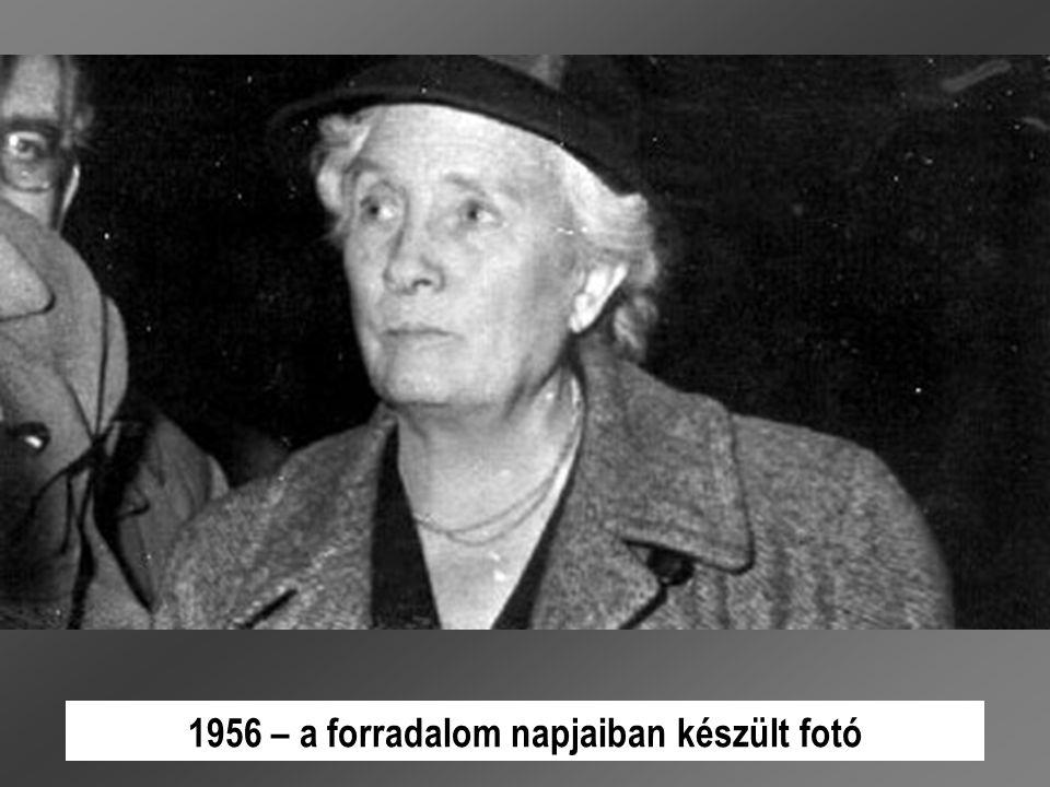 1956 – a forradalom napjaiban készült fotó