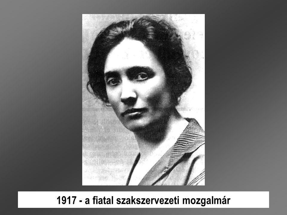 1889.november 16-án született Budapesten sokgyermekes munkáscsaládban.