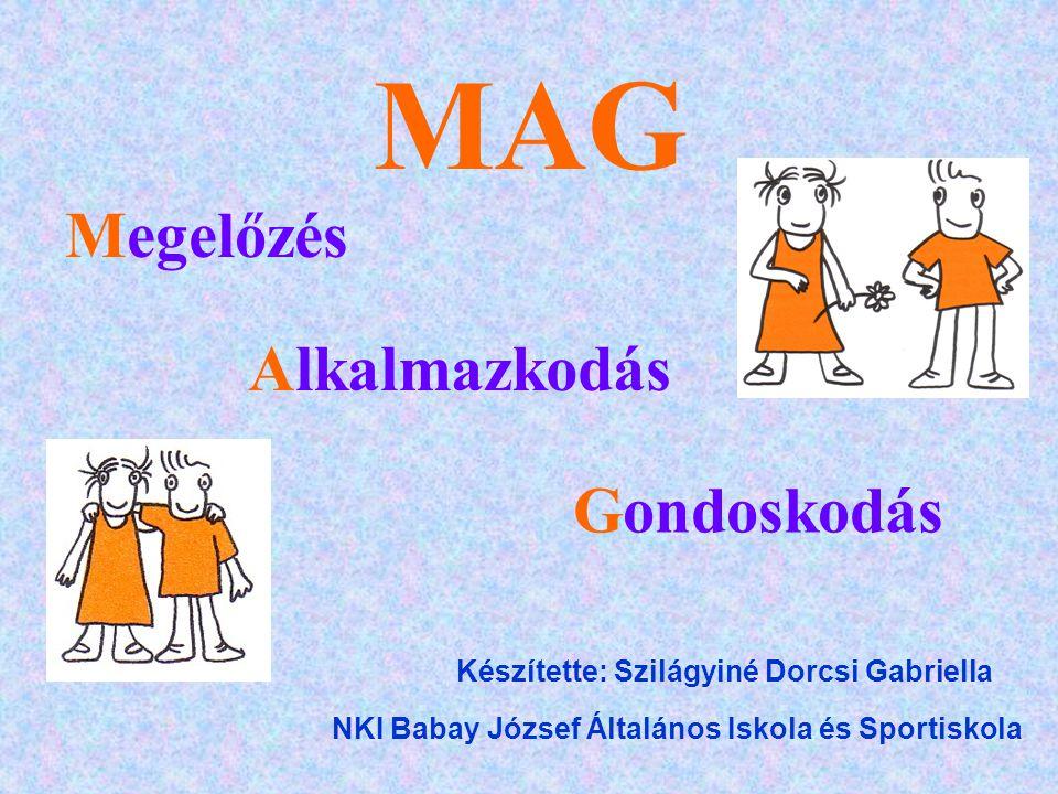 MAG Instrukció - Kapcsolat MÁTRIX CELLA: KAPCSOLAT KOMPETENCIAAUTONÓMIA INTERAKCIÓ INSTRUKCIÓ OSZTÁLY- SZERVEZÉS