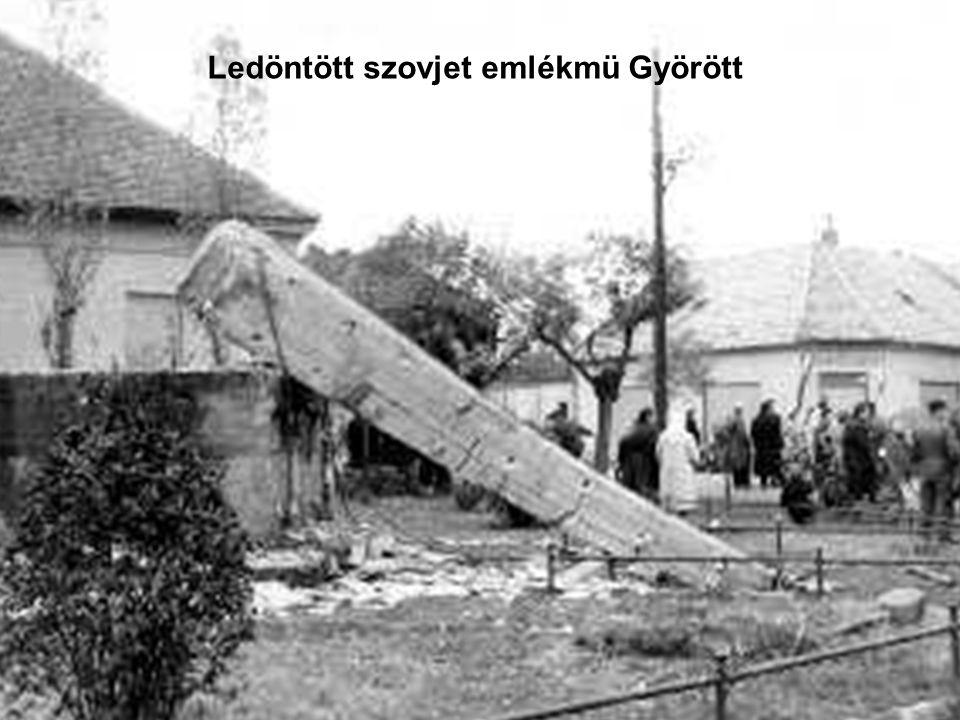 111 Rabok kiszabadítása Györött a fogdából