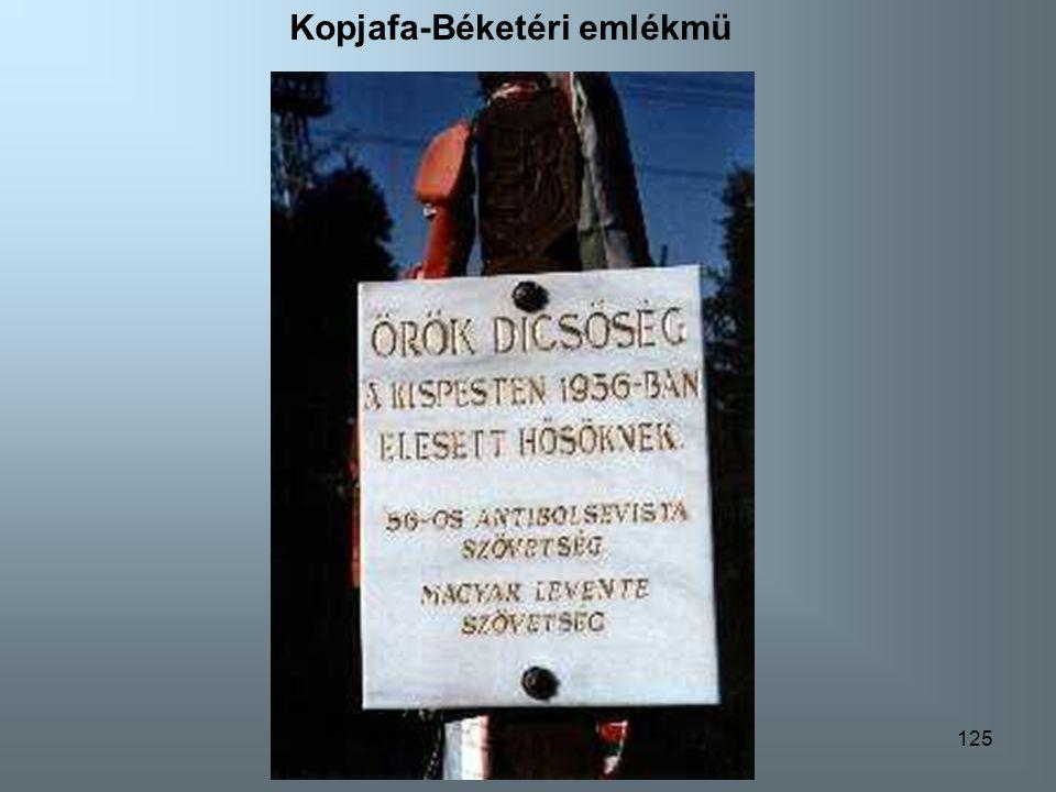 124 Székesfehérvári emlékmü