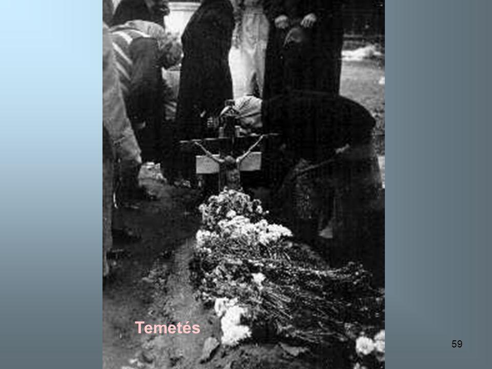 58 Megölt forradalmárok sírjai a Vámház körúton