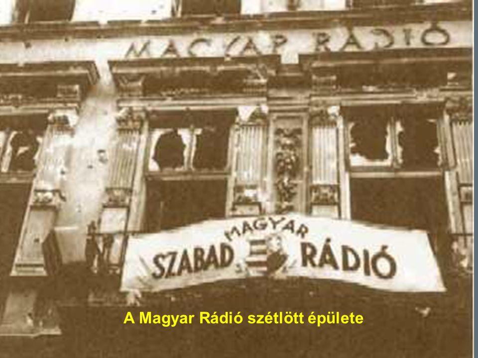 99 A Magyar Rádió szétlött épülete