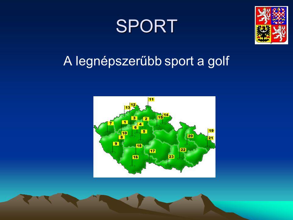 SPORT A legnépszerűbb sport a golf