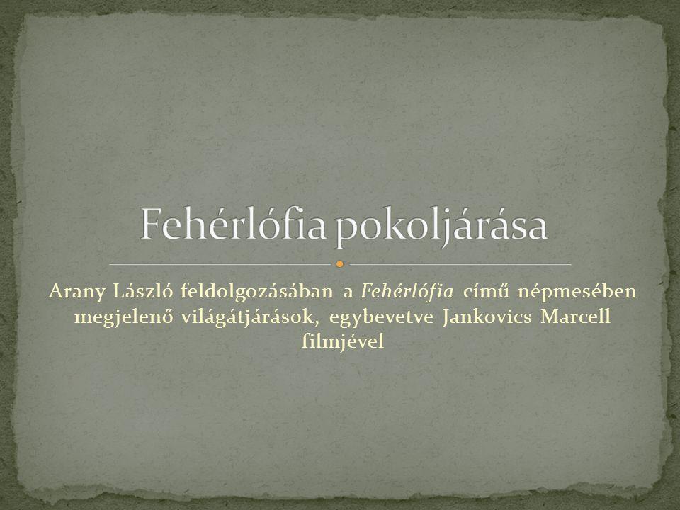 Arany László feldolgozásában a Fehérlófia című népmesében megjelenő világátjárások, egybevetve Jankovics Marcell filmjével