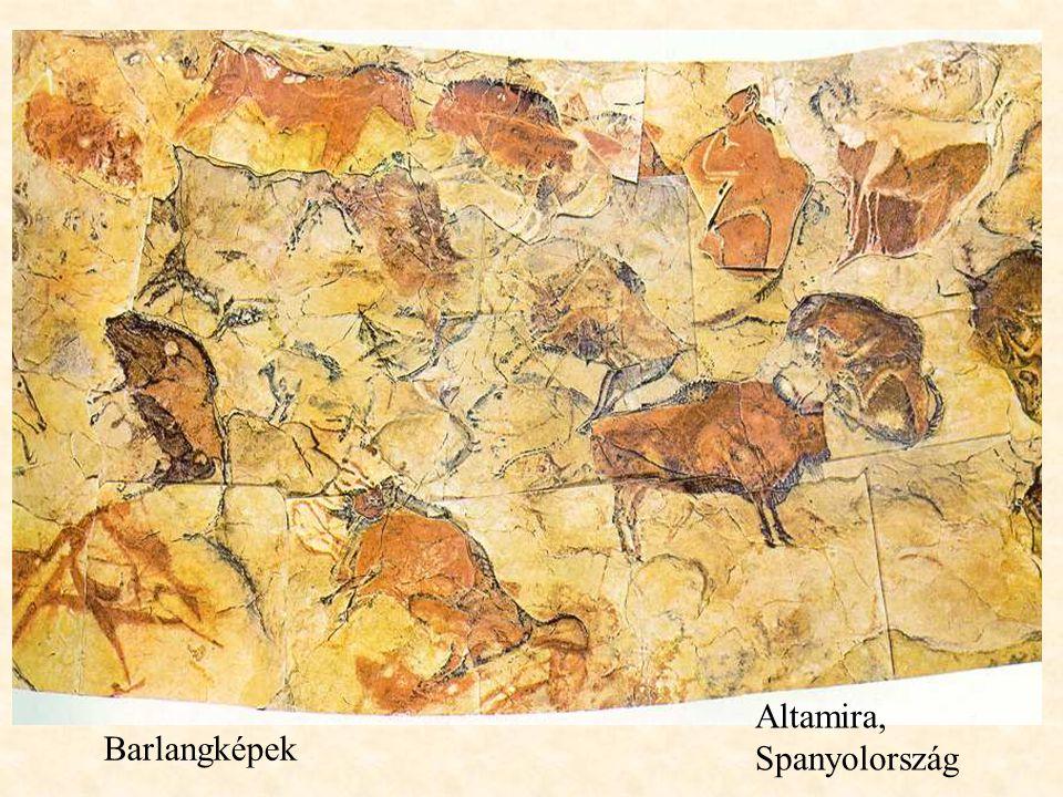 Barlangképek Altamira, Spanyolország