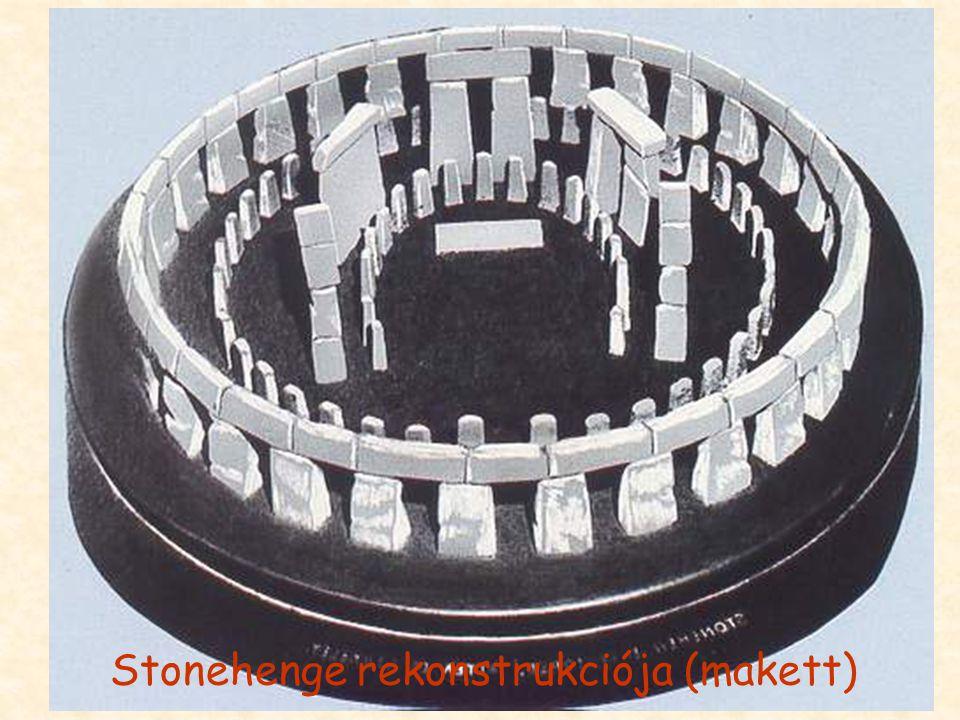 Stonehenge rekonstrukciója (makett)