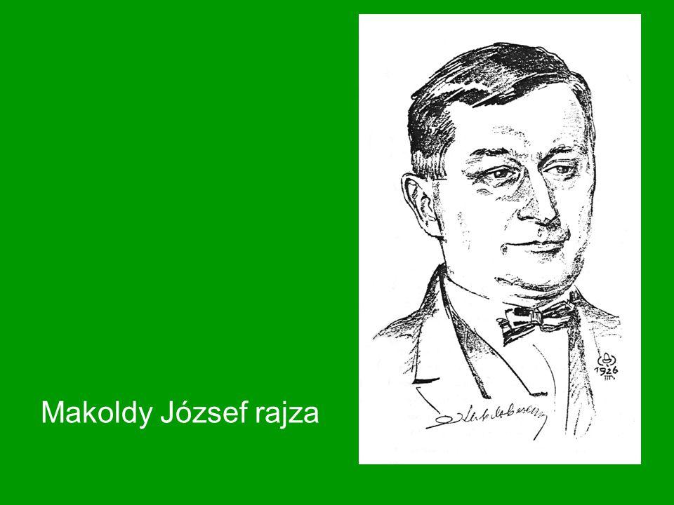 Makoldy József rajza