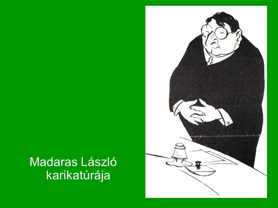Madaras László karikatúrája