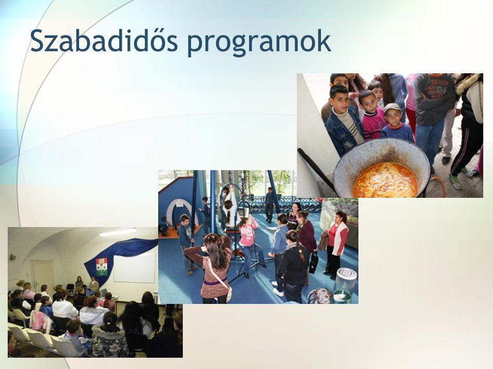 Szabadidős programok