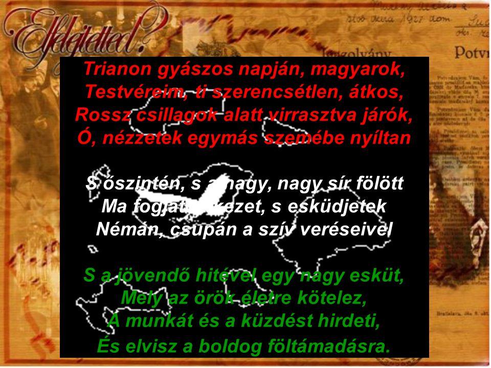 S lehet feledni az aradi őskert Tizenhárom magasztos álmodóját, Kik mind, mind várnak egy föltámadásra?