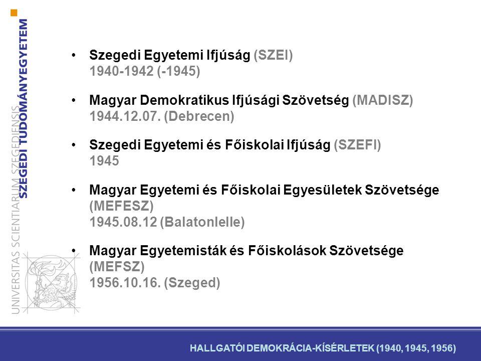 A Magyar Egyetemisták és Főiskolások Szövetsége értékelése •A szervezők célja (október elejétől 16-áig): alulról építkező ifjúsági érdekvédelmi szervezet létrehozása volt, melyben a felsőoktatási diákságot érintő tanulmányi és szociális kérdések megoldását látták.