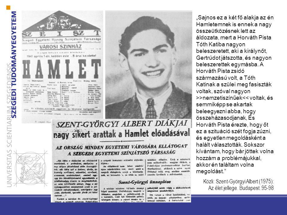 1942. január 7-22. – Az első népfőiskola, melyet az egyetemi hallgatóság szervezett.