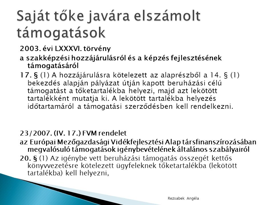 2003.évi LXXXVI.