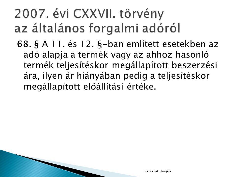 68.§ A 11. és 12.