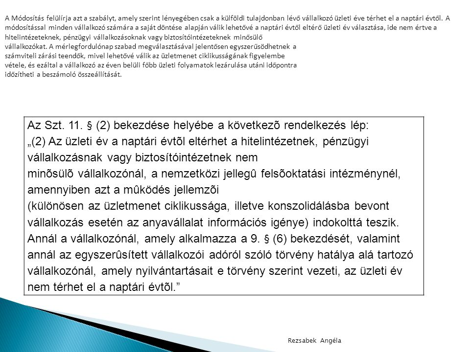 2.számú melléklet az 1996. évi LXXXI. törvényhez II.