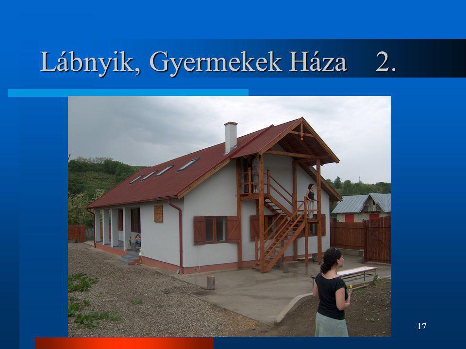 17 Lábnyik, Gyermekek Háza 2.
