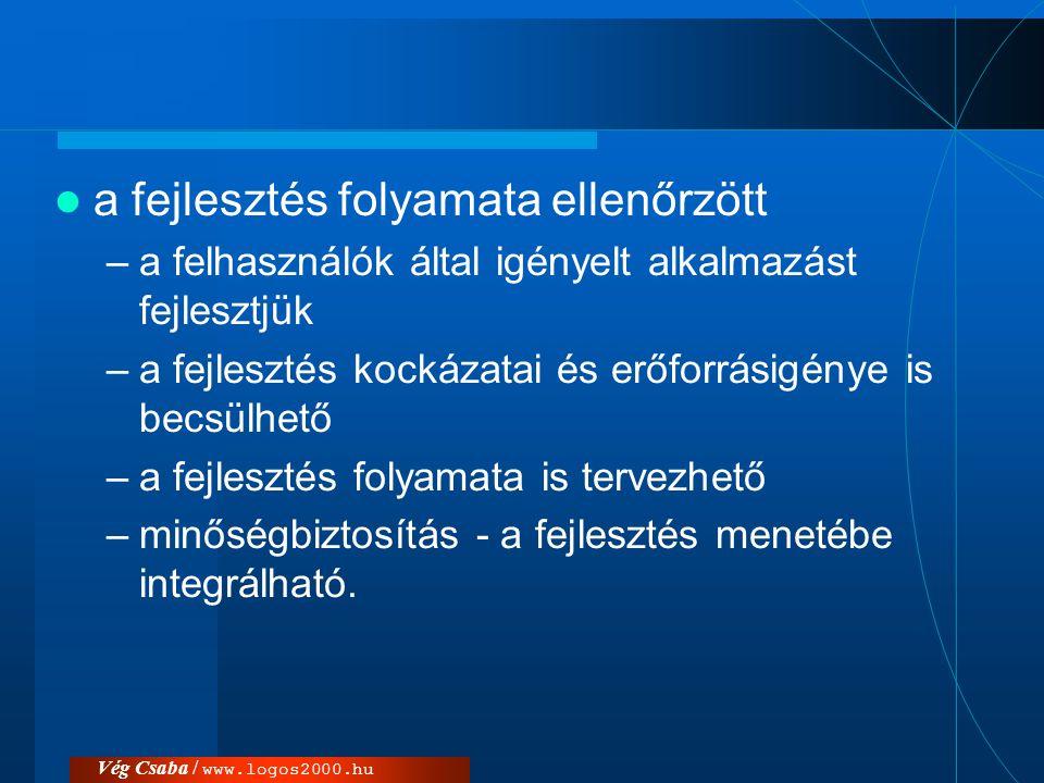 Vég Csaba / www.logos2000.hu Alapelemek
