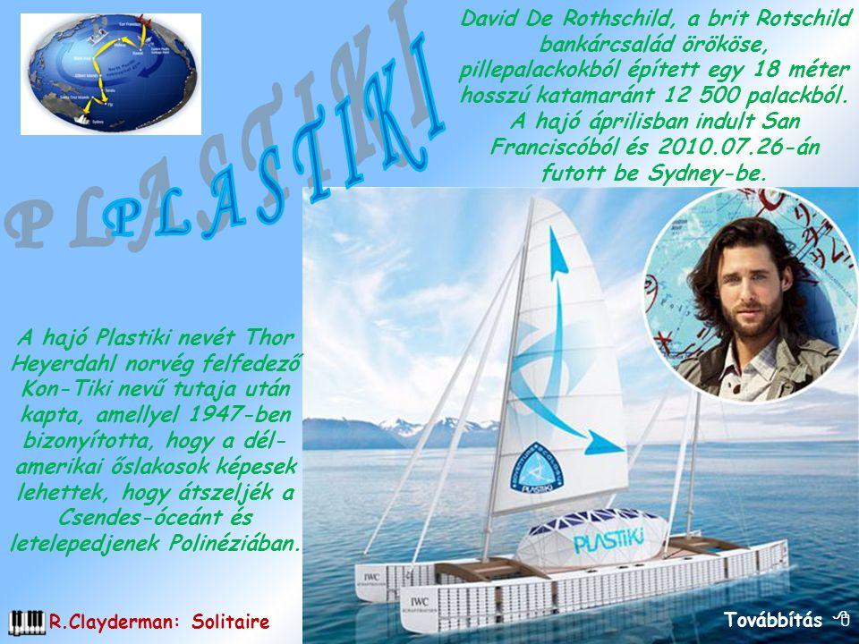 A hajó Plastiki nevét Thor Heyerdahl norvég felfedező Kon-Tiki nevű tutaja után kapta, amellyel 1947-ben bizonyította, hogy a dél- amerikai őslakosok képesek lehettek, hogy átszeljék a Csendes-óceánt és letelepedjenek Polinéziában.