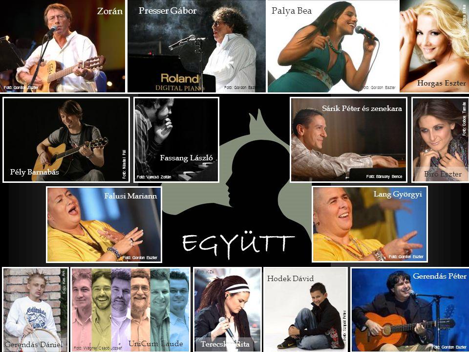 Művészek a Lovasterápiáért Koncert a beteg gyermekek fejlesztéséért EGYÜTT 2009.
