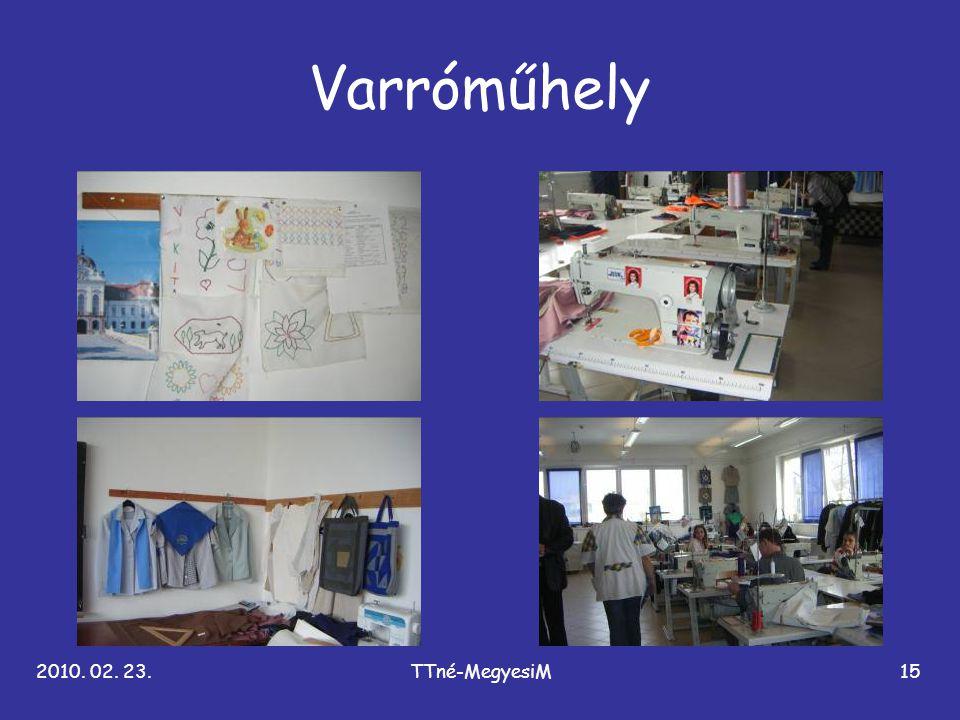 2010. 02. 23.TTné-MegyesiM15 Varróműhely